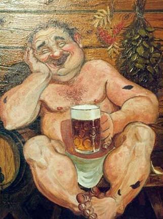 Пиво в бане и месть парного бога