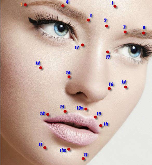 точечный массаж при зубных болях
