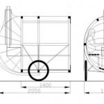 Мобильная баня на велосипеде