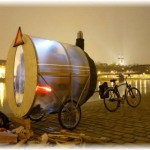 Передвижная мобильная баня на мото колесах