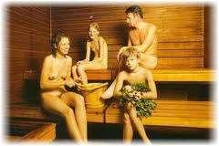 Семейная пара в бане фото 357-774