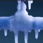 замерзла вода в трубе в бане