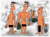 Анекдоты о бане и сауне в прозе стихах и картинках