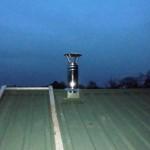 Вывод дымоходной трубы через крышу